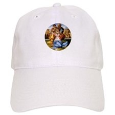 The Holy Family with Infant S Baseball Cap