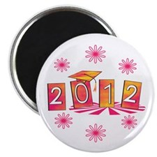 Groovy Senior 2012 Magnet