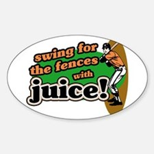 The Juice Oval Decal
