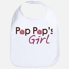 Pop Pop's Girl Bib