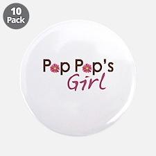 """Pop Pop's Girl 3.5"""" Button (10 pack)"""