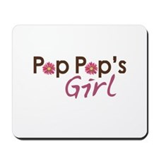 Pop Pop's Girl Mousepad
