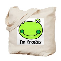 I'm froggy Tote Bag