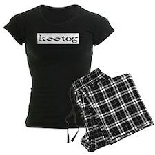 Knit everything together Women's Dark Pajamas