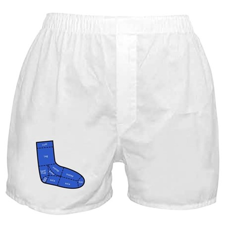 Sock Anatomy Boxer Shorts