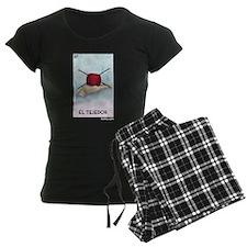 El Tejedor [for guy knitters] Women's Dark Pajamas