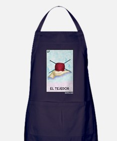 El Tejedor [for guy knitters] Apron (dark)
