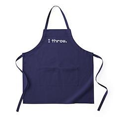I throw Apron (dark)