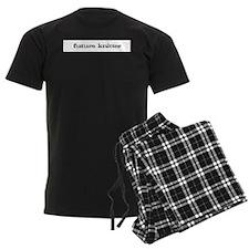 future knitter Men's Dark Pajamas