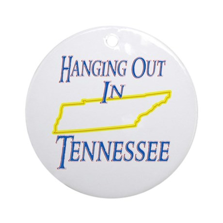 Hanging Out in TN Ornament (Round)
