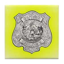 Utica Police Tile Coaster
