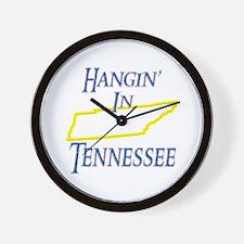Hangin' in TN Wall Clock