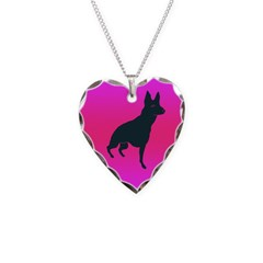 Front Leg Tripawd GSD Necklace