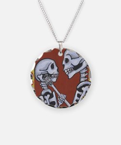 Day of the Dead Love Necklace