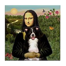 Mona/Border Collie Tile Coaster