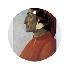 Portrait of Dante Ornament (Round)
