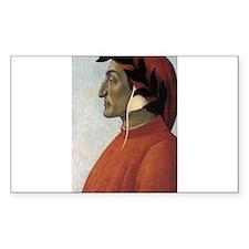 Portrait of Dante Decal