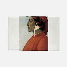 Portrait of Dante Rectangle Magnet