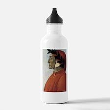 Portrait of Dante Water Bottle