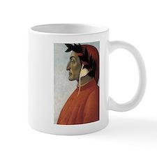 Portrait of Dante Small Mugs