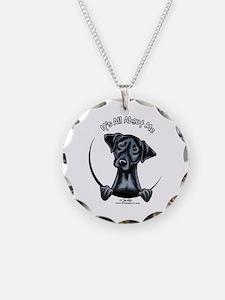 Black Lab IAAM Necklace