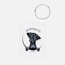 Black Lab IAAM Keychains