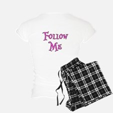 I Am The White Rabbit Follow Me Pajamas