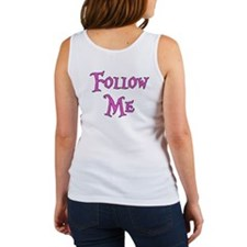 I Am The White Rabbit Follow Me Women's Tank Top