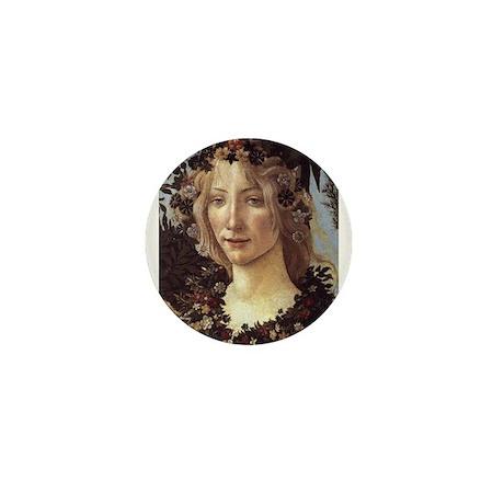 Primavera (detail - Flora, Go Mini Button (100 pac