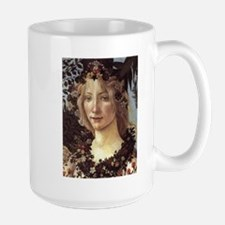 Primavera (detail - Flora, Go Ceramic Mugs