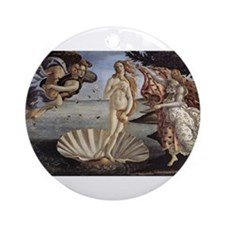 The Birth of Venus Ornament (Round)