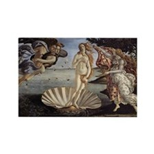 The Birth of Venus Rectangle Magnet