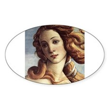 The Birth of Venus (detail) Decal