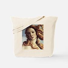 The Birth of Venus (detail) Tote Bag