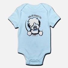 Old English Sheepdog IAAM Infant Bodysuit