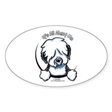 Old English Sheepdog IAAM Decal