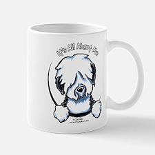 Old English Sheepdog IAAM Small Small Mug