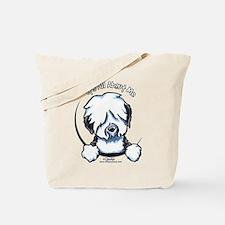 Old English Sheepdog IAAM Tote Bag