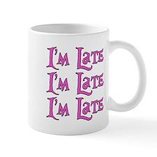I'm Late Alice in Wonderland Mug