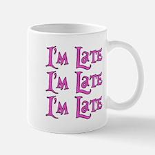 I'm Late Alice in Wonderland Small Mugs