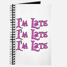 I'm Late Alice in Wonderland Journal