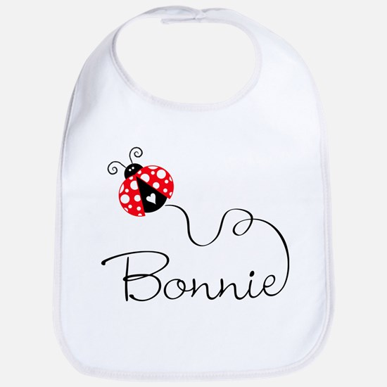 Ladybug Bonnie Bib