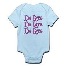 I'm Late Alice in Wonderland Infant Bodysuit