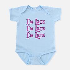 I'm Late Alice in Wonderland Infant Bodysuit