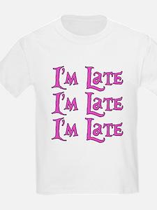 I'm Late Alice in Wonderland T-Shirt