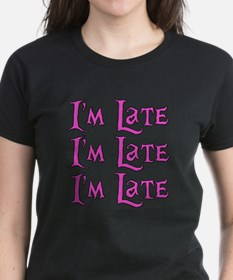 I'm Late Alice in Wonderland Tee