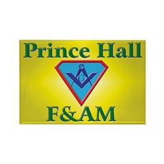 Masonic Prince Hall Rectangle Magnet (10 pack)