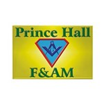 Masonic Prince Hall Rectangle Magnet