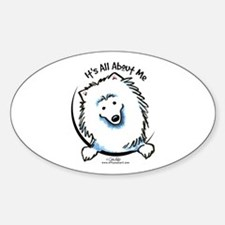 Spoiled Eskie Sticker (Oval)