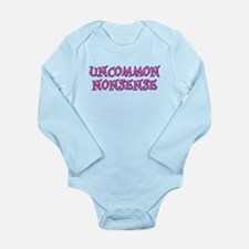 Uncommon Nonsense Long Sleeve Infant Bodysuit